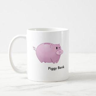 Piggy Bank Basic White Mug