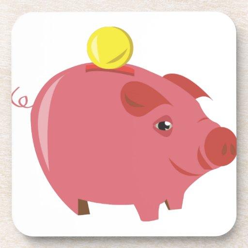 Piggy Bank Coaster