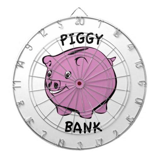 PIGGY BANK DART BOARD
