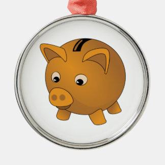 Piggy Bank Christmas Tree Ornaments