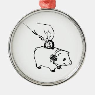 Piggy Bank Christmas Ornaments