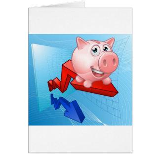 Piggy Bank Graph Concept Card