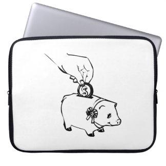 Piggy Bank Computer Sleeves