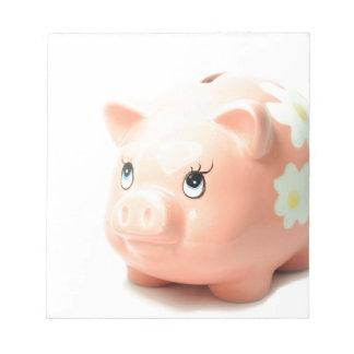 Piggy-bank Memo Pads