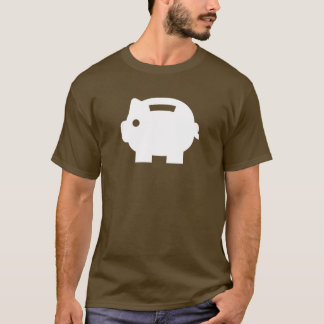Piggy Bank Pictogram T-Shirt