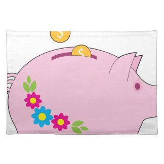 Piggy Bank Placemat