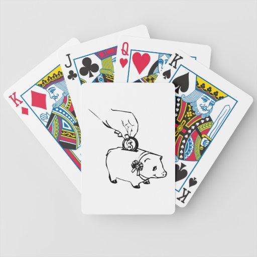 Piggy Bank Poker Cards