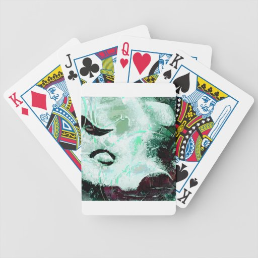 Piggy bank playing cards