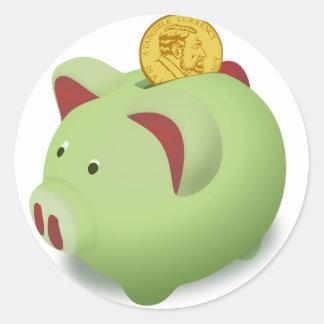 Piggy Bank Stickers