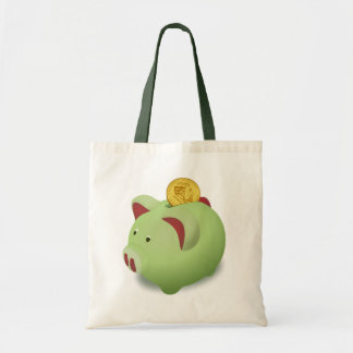 Piggy Bank Tote Bag