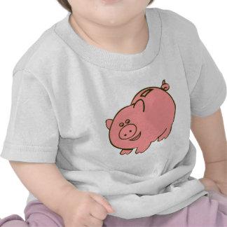 piggy bank tee shirt