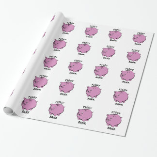PIGGY BANK WRAPPING PAPER