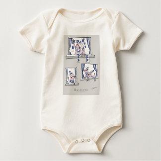 piggy blues forever baby bodysuit