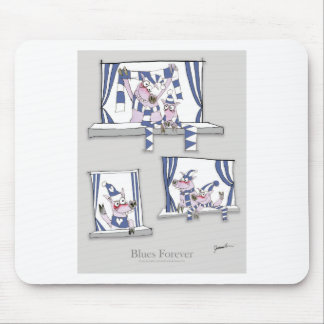 piggy blues forever mouse pad