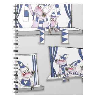 piggy blues forever notebook