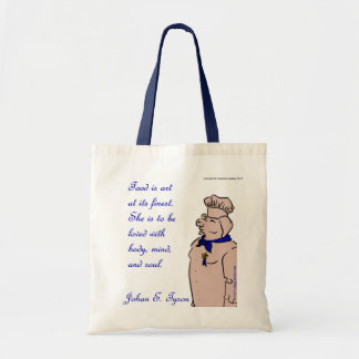 Piggy Epicure Shopping Tote Budget Tote Bag