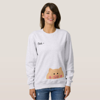 Piggy Face Sweatshirt