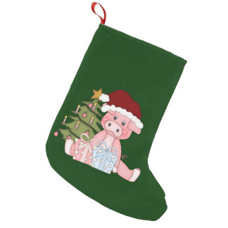 Piggy Gifts Christmas Stocking