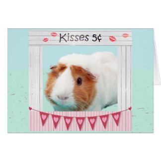Piggy Hugs and Kisses Card