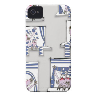 piggy matchday blues iPhone 4 cover