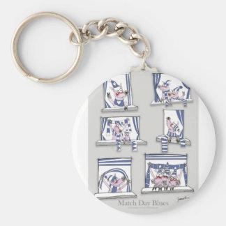 piggy matchday blues key ring