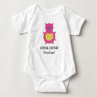 Piggy Pig shirt for baby girls
