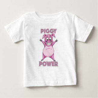 PIGGY POWER BABY T-Shirt