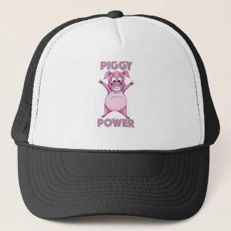 PIGGY POWER TRUCKER HAT