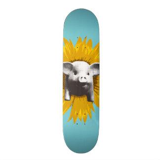 Piggy Sunflower Skate Boards