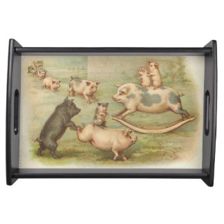 Piggyback Serving Tray