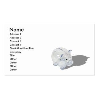 PiggyBank092110, Name, Address 1, Address 2, Co... Business Cards