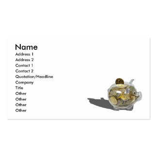 PiggyBankGoldCoins102410, Name, Address 1, Addr... Business Card
