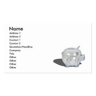 PiggyBankProfile102410, Name, Address 1, Addres... Business Cards