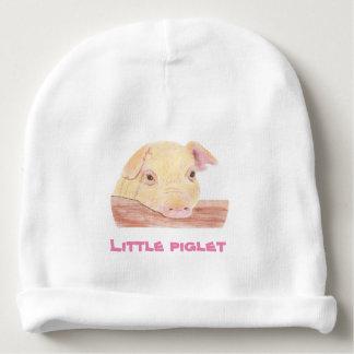 Piglet baby beanie