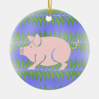 Piglet Ceramic Ornament