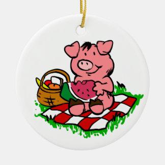Pignic Ceramic Ornament
