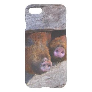 PigPen Pair Peeking Piggies iPhone 7 Case