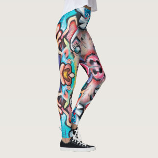 Pigs and Chickens Leggings
