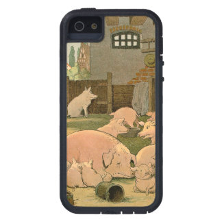 Pigs and Piglets on the Farm iPhone 5 Case