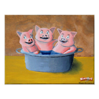 Pigs in a Tub - Poster