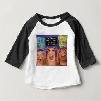 Pigs On Strike Baby T-Shirt