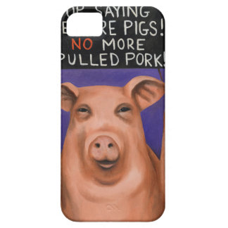Pigs On Strike Barely There iPhone 5 Case