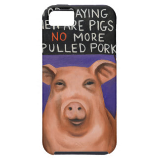 Pigs On Strike Tough iPhone 5 Case