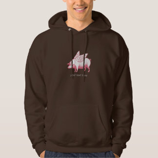 Pigs will fly! hoodie