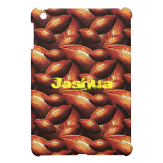 Pigskins Galore All Over Football Design iPad Mini Case