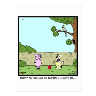 Pigsty Postcard
