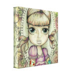Pigtails and Tattoos Gallery Wrap Canvas