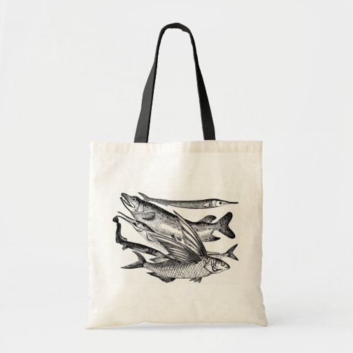 Pike Family - Fish Budget Tote Bag