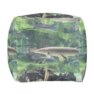 Pike Fish Pouf