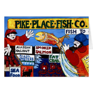 Pike Place Fish Co. Card